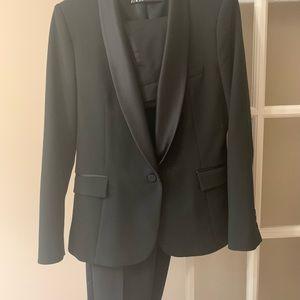Zara tuxedo suit pants and blazer